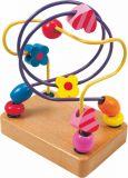 Dřevěné hračky - Motorický labyrint malý Korálky
