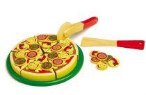 Small Foot Dřevěná sada pizza
