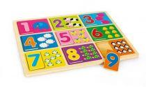 Školní pomůcky - Puzzle Výuka čísel