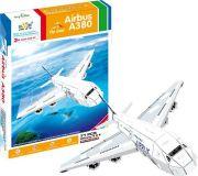 Třívrstvé pěnové 3D puzzle - 3D Letadlo Air
