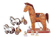 Small Foot Třívrstvé pěnové 3D puzzle Trojský kůň