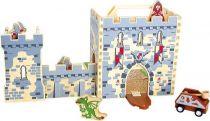 Small Foot Dřevěný rytířský hrad v kufru