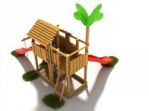 Dřevěné hračky Dřevěné dětské hřiště - Stavebnice hřiště Čikita PA