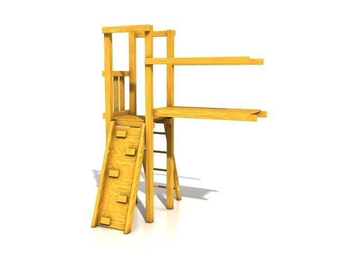 Dřevěné hračky Dřevěné dětské hřiště - Stavebnice - Modul Lávka PA