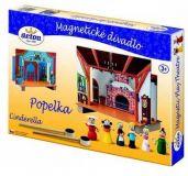 Dřevěné hračky Detoa Dětské divadlo magnetické - Popelka
