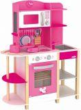 Dřevěné hračky Woody - Kuchyňský ostrov - Kuchyňka Trendy