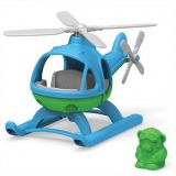 Dřevěné hračky Green Toys Vrtulník modrý