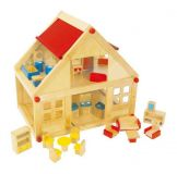 Small Foot Obytný dům pro panenky včetně nábytku