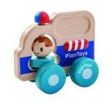 Plantoys dřevěná hračka - Záchranářské auto