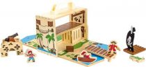 Dřevěná hračka - Pirátsky ostrov v kufru