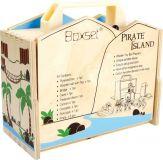 Dřevěné hračky Small Foot Dřevěný Pirátsky ostrov v kufru Small foot by Legler