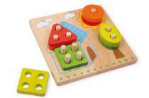Small Foot Dřevěná motorická hra domek