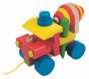 Woody Dřevěné barevná montážní automíchačka