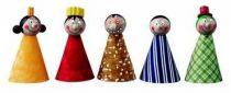 Dřevěné hračky Detoa Prstoví maňásci pohádkové postavičky