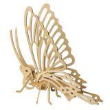 Dřevěné hračky Woodcraft Dřevěné 3D puzzle motýl Woodcraft construction kit