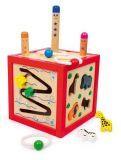 Dřevěné hračky - Motorické hračky - Akční kostka Toni