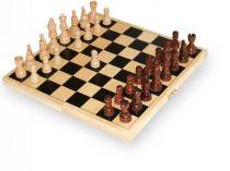 Small Foot Dřevěné hry dřevěné šachy