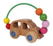 Tahací hračky do ruky - Motorická hra - labyrint auto