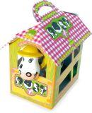 Dřevěné hračky Vilac Tahací kravička Rosy