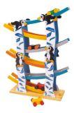 Dřevěné hračky - Dřevěná dráha tučňáci