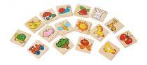 Dřevěné hračky - dřevěné hry -  Barevné pexeso