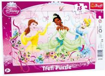 Puzzle v rámu Princess, 15 dílů