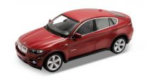 Welly - BMW X6 1:24 červená