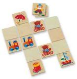 Dřevěné hračky Dřevěné hračky - dřevěné hry - Obrázkové pexeso Mertens