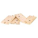 Dřevěné hračky Bigjigs Rail Dřevěné autodráhy dlouhá cesta 3Ks