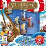 Dětské hlavolamové smart hry - Vikingové v bouři