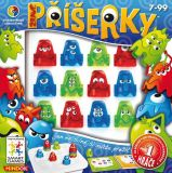 Dětské hlavolamové smart hry - Žravé příšerky