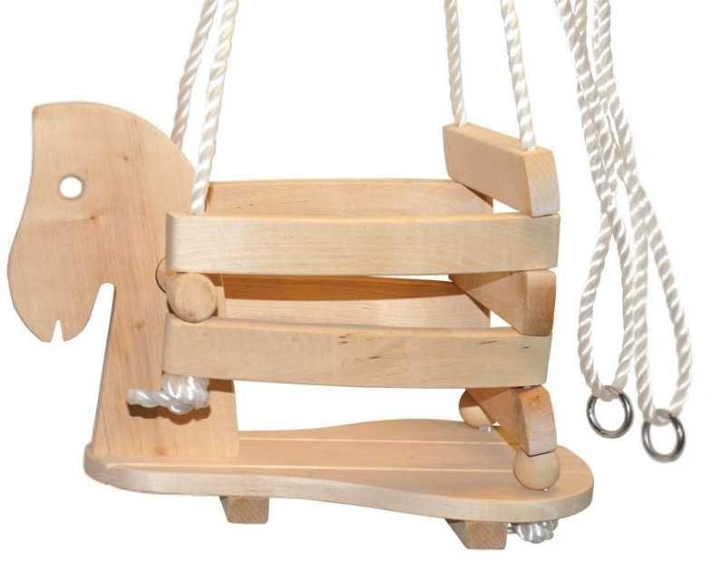 Dřevěné hračky Small Foot Dřevěná houpačka kůň Small foot by Legler