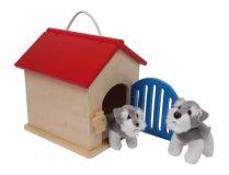 Dřevěné hračky - Boudička pro psa