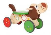 Dřevěné hračky - Dřevěné Odrážedlo Jezevčík