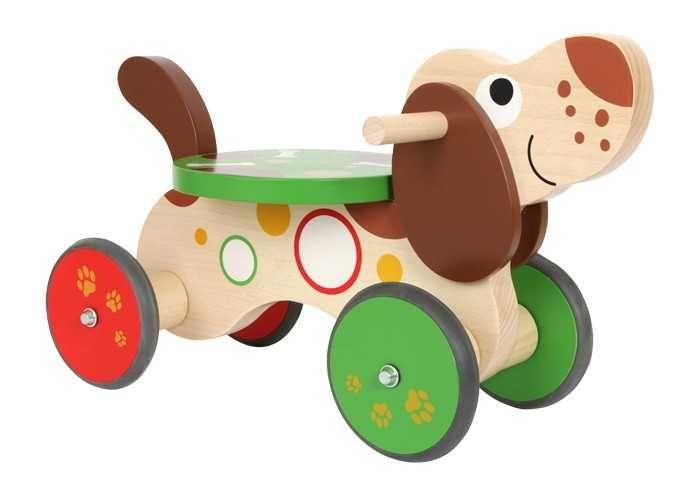 Dřevěné hračky Dřevěné hračky - Dřevěné Odrážedlo Jezevčík Small foot by Legler
