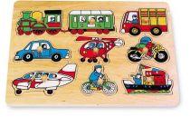 Small Foot Dřevěné hračky vkládací skládanka doprava