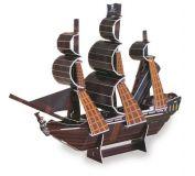 Třívrstvé pěnové 3D puzzle - 3D Pirátská loď Pearl
