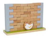 Dřevěné hračky Small Foot Dřevěná motorická hra balanční zeď Small foot by Legler