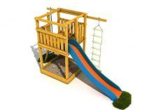 Dřevěné hračky Dřevěné dětské hřiště - Stavebnice hřiště Terezka PA