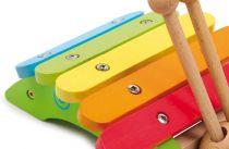 Dřevěné hračky Dřevěné hračky - Dětské hudební nástroje - Xylofon šnek Small foot by Legler