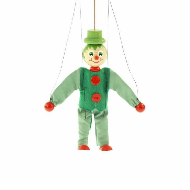 Dřevěné hračky Dřevěné loutky - Vodník Česká dřevěná hračka