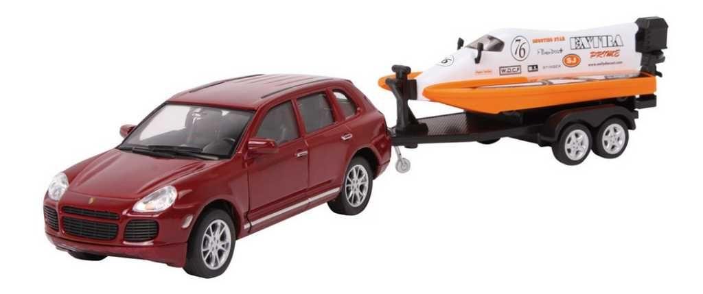 Dřevěné hračky Kovový model auta - Model automobilu Speed Set Small foot by Legler