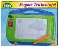 Dřevěné hračky Lena Magnetická tabulka barevná 32 cm