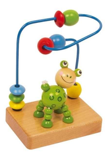 Dřevěné hračky Small Foot Motorický labyrint zvířátka žabka Small foot by Legler