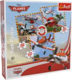 Small Foot Papírové puzzle letadla 3v1