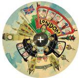 Dřevěné hračky ARToy City disk okolo světa Londýn