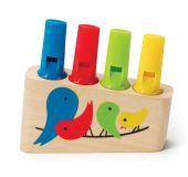 HAPE dřevěné hračky - dřevěná duhová flétna