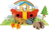 Small Foot Hrací set dřevěná Noemova archa