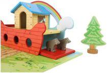 Dřevěné hračky Small Foot Hrací set dřevěná Noemova archa Small foot by Legler