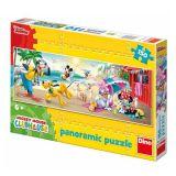 Dino Papírové puzzle 150 dílků MICKEYHO letní radovánky
